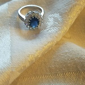 Jewelry - Blue Sapphire 14k gold filled ring